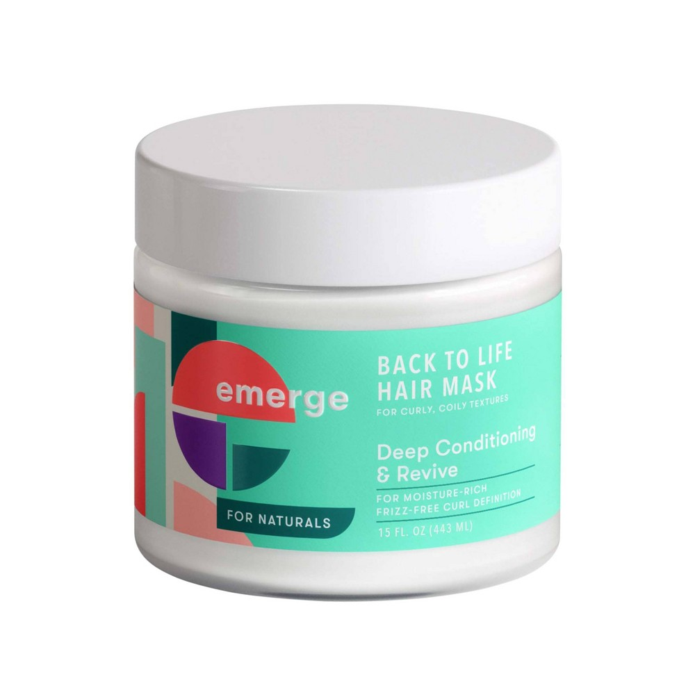 Image of Emerge Back to Life Deep Conditioning & Revive Hair Mask - 15oz