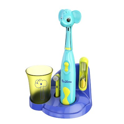 Brusheez Ollie the Elephant Kid's Electric Toothbrush Set