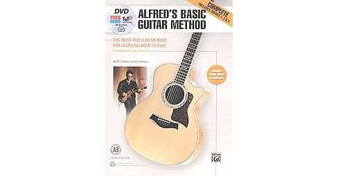 Alfred's Basic Guitar Method, Complete : The Most Popular Method of Learning How to Play, For Individual - image 1 of 1