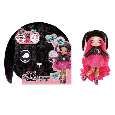 Na! Na! Na! Surprise Ultimate Surprise Black Bunny with Mix & Match Looks