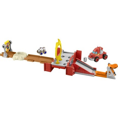 Fisher-Price Nickelodeon Blaze and the Monster Machines Mud Pit Race Track Set