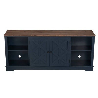 """TV Stand for TVs up to 78"""" Navy - Home Essentials"""
