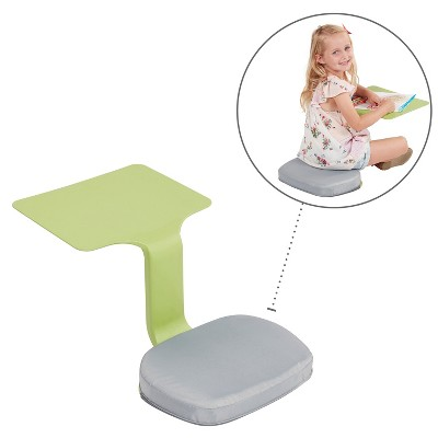 ECR4Kids The Surf Foam Seat Cushion for Portable Lap Desk, Laptop Stand, Writing Table, 10-PK, Grey