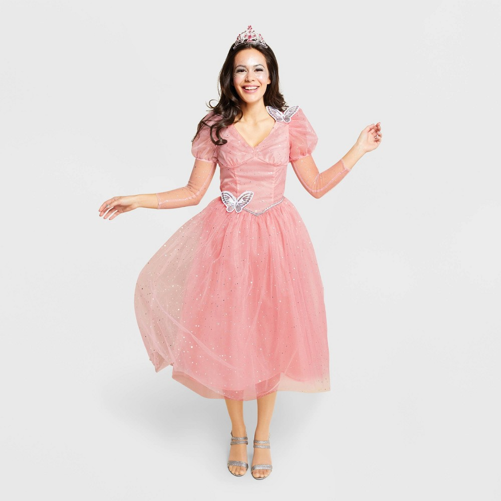 Best Price Women Good Witch Of The North Halloween Costume M Hyde And Eek Boutique Pink