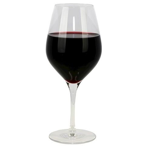 oneida grace 17oz stemware red wine glasses set of 4 target