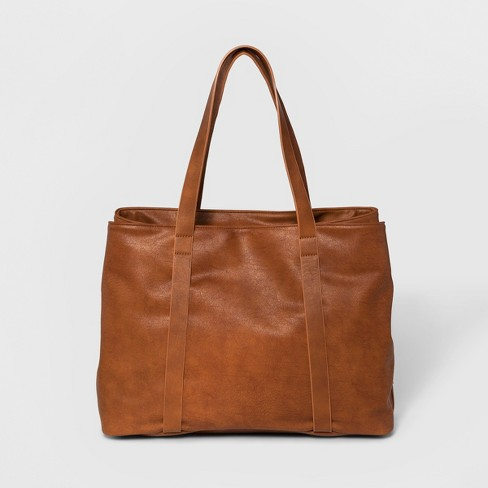 Triple Compartment Tote Handbag - Universal Thread™ - image 1 of 4