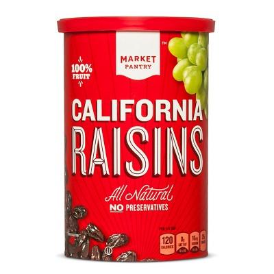 Dried Fruit & Raisins: Market Pantry California Raisins