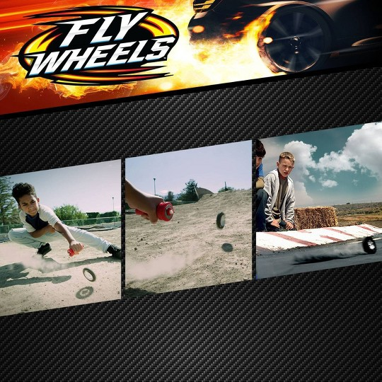 Fly Wheels Launcher + 2 Street Wheels – Shadowhawk image number null