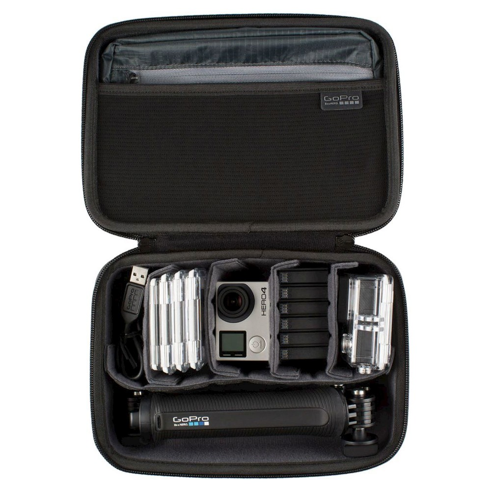 GoPro Casey Case for Camera + Mounts + Accessories, Black
