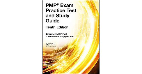 PMP Exam Practice Test and Study Guide (Hardcover) (Dr. Ginger Levin & J. Leroy Ward) - image 1 of 1