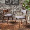 Chazz Mid-Century Dining Chair (Set of 2) - Christopher Knight Home - image 2 of 4