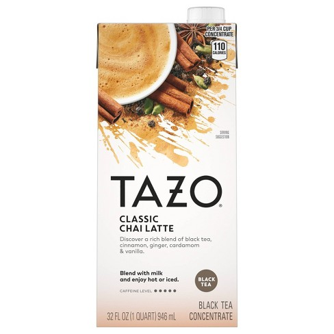 Tazo Classic Latte Chai Black Tea - 32oz - image 1 of 4