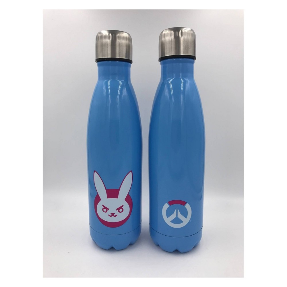 Overwatch SS 16oz Water Bottle - D. Va, Multi-Colored