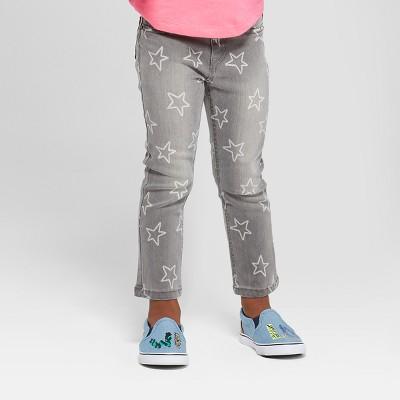 Toddler Girls' Jeans - Cat & Jack™ Gray 2T