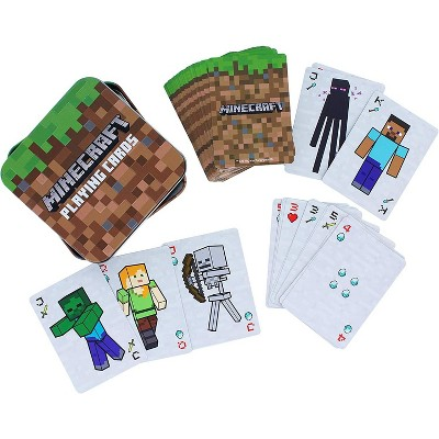 Minecraft Playing Cards | 52 Card Deck + 2 Jokers