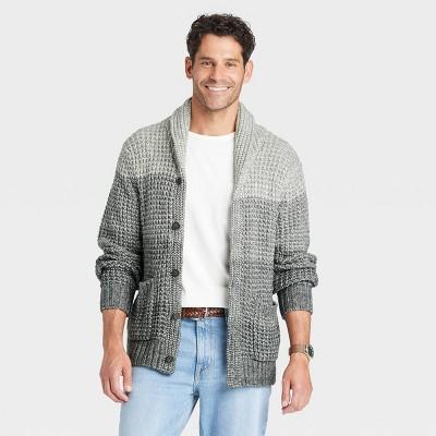 Men's Regular Fit Collared Cardigan - Goodfellow & Co™