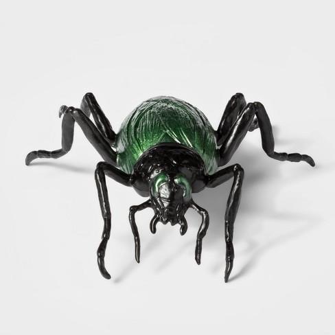 Realistic Beetle Decorative Halloween Prop Black/Green - Hyde & EEK! Boutique™ - image 1 of 1