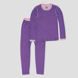 Girls' Performance Thermal Underwear Set - C9 Champion® Purple