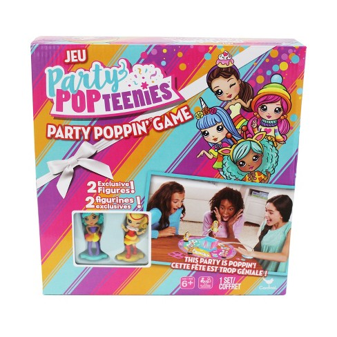 Party Popteenies Party Poppin' Game with 2 Exclusive Figures - image 1 of 1