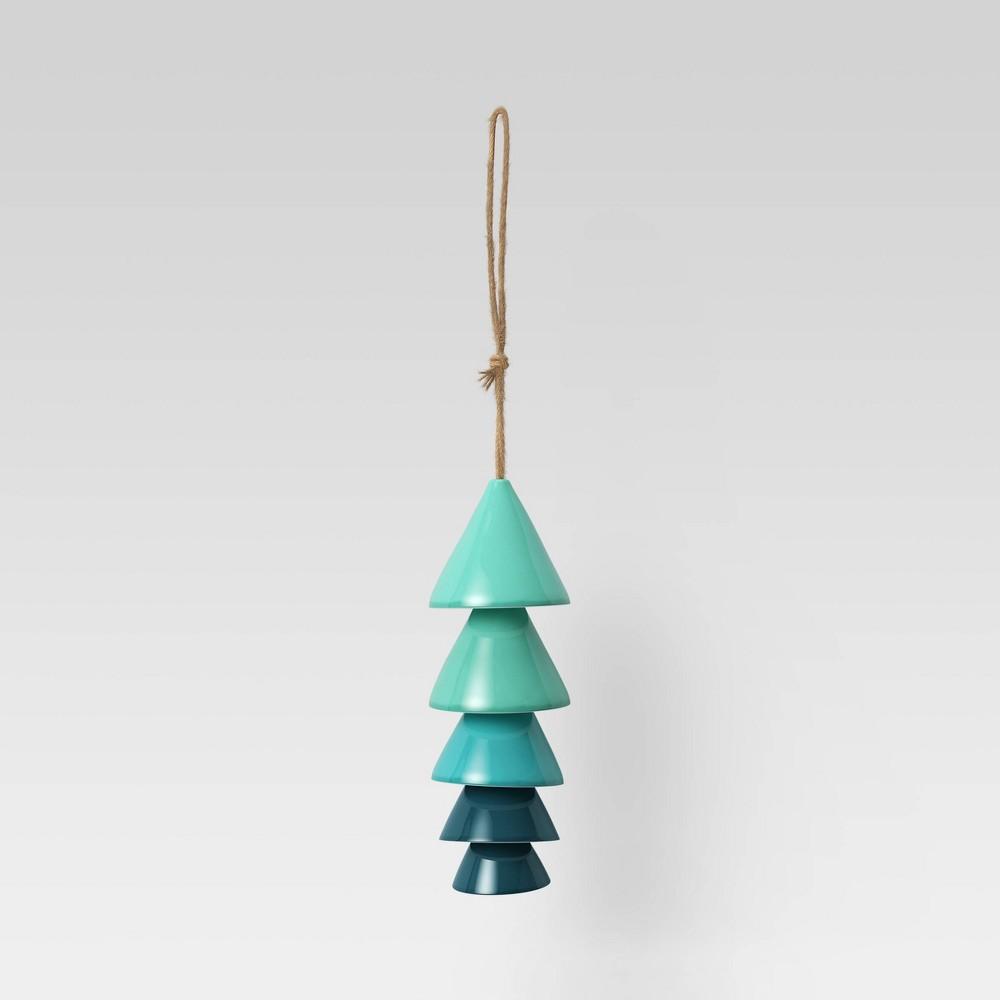 Ceramic Wind Chime Blue Opalhouse 8482