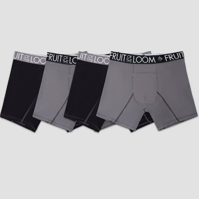 Fruit of the Loom Select Men's Breathable Performance Cool Cotton Boxer Briefs 4pk