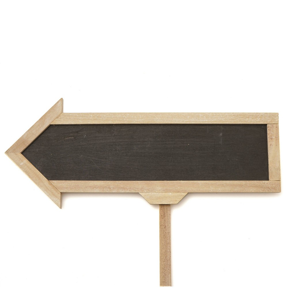 Large Chalkboard Arrow Sign Party Decoration And Accessory