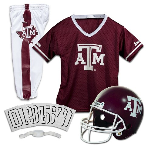 low cost 87e47 59d38 Franklin Sports Team Licensed Texas A&M Aggies Deluxe Football Uniform Set