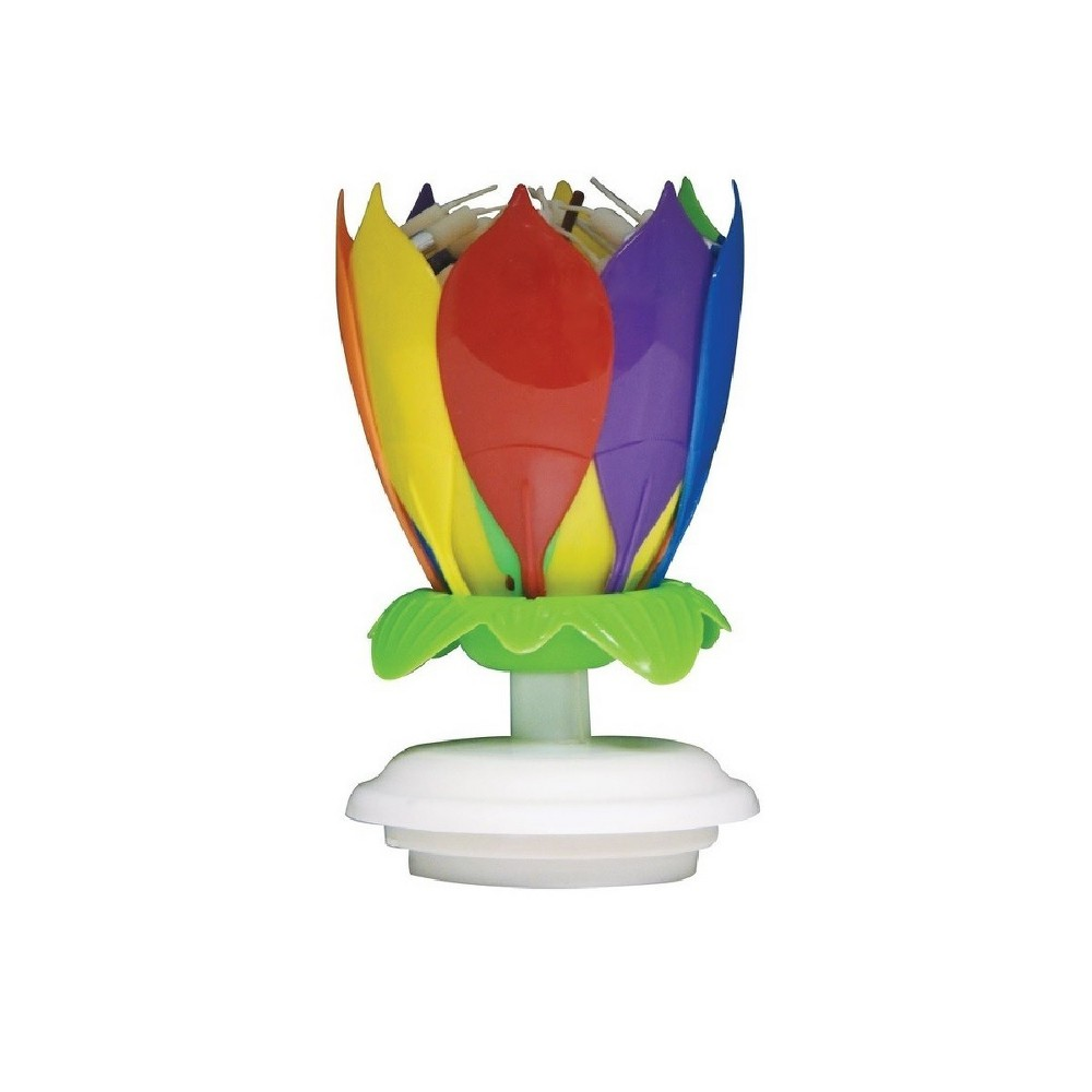Image of Incredible Cake Candle - Just For Laughs, Multi-Colored
