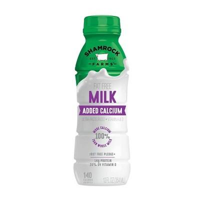 Shamrock Farms Skim Milk - 12 fl oz