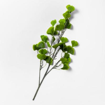 28  Artificial Ginkgo Stem Green - Opalhouse™