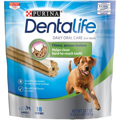 Purina Dentalife Large Daily Oral Care Treat 20.7oz - image 1 of 4