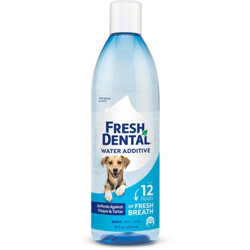Naturel Promise Fresh Dental Water Additive For Dogs & Cats - 18oz - image 1 of 3