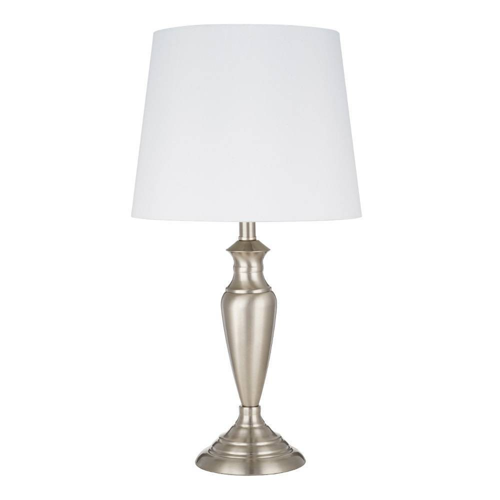 Image of Accent Lamp Brushed Nickel (Includes Energy Efficient Light Bulb) - Cresswell Lighting