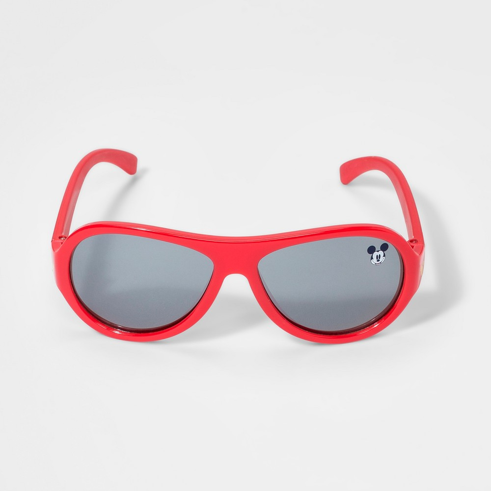 ac56682dbfa6 Boys Mickey Mouse Sunglasses Red One Size