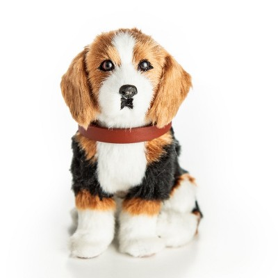 The Queen's Treasures 18 In  Doll  Beagle Puppy Dog with Leash and Collar