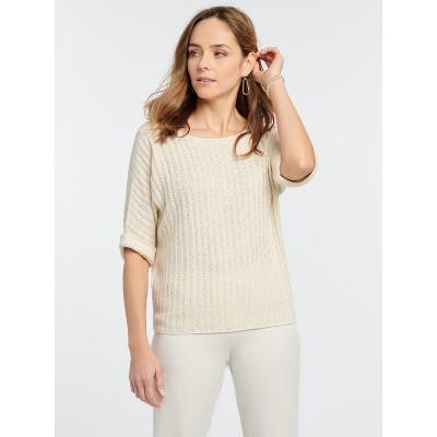 NIC+ZOE Women's Glow For It Sweater