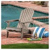 Hanlee Folding Wood Adirondack Chair - Christopher Knight Home - image 2 of 4