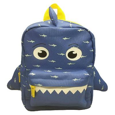 Toddler Boys' 3D Shark Backpack - Cat & Jack™ Blue