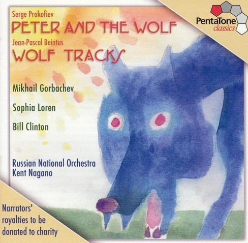 Russian National Orc - Prokofiev:Peter & The Wolf/Beintus Wo (CD) - image 1 of 1