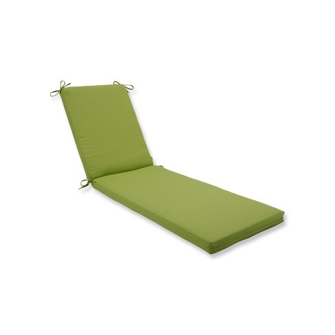 Indoor/Outdoor Fresco Pear Green Chaise Lounge Cushion - Pillow Perfect - image 1 of 1