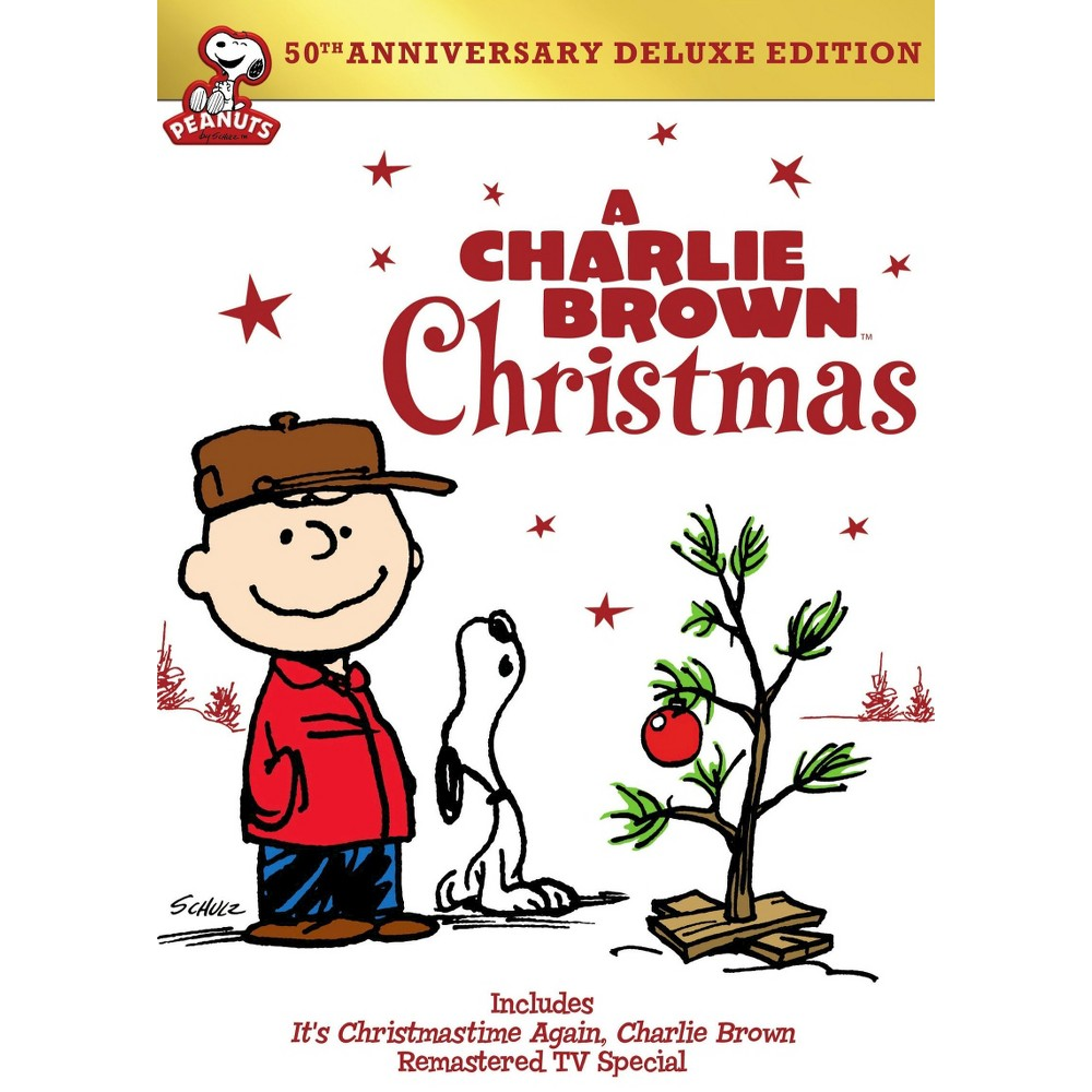 A Charlie Brown Christmas (50th Annivesary) (2 Discs) (dvd_video)