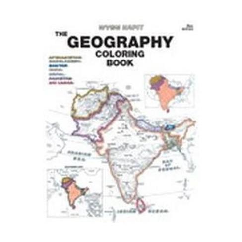Geography : Coloring Book (Paperback) (Wynn Kapit) : Target