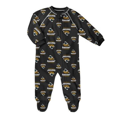 NFL Jacksonville Jaguars Baby Boys' Blanket Sleeper - image 1 of 1