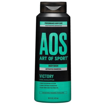 Art of Sport Victory Activated Charcoal Body Wash - 16 fl oz