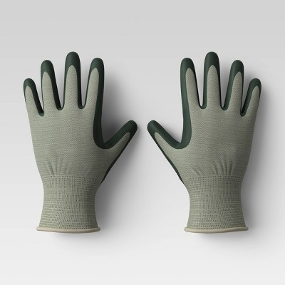 2pk S/M Bamboo Nitrile Gloves Green - Smith & Hawken™