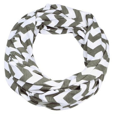 Itzy Ritzy Nursing Scarf Assorted - Gray Chevron
