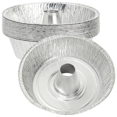 Okuna Outpost 15 Pack Disposable Aluminum Foil Pans (10 In)