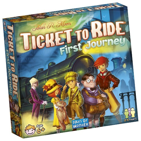 Ticket to Ride First Journey Board Game - image 1 of 2