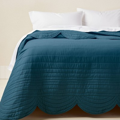 Scalloped Edge Quilt - Opalhouse™ designed with Jungalow™