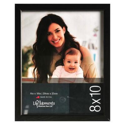 "8""X10"" Wood Frame Set of 6 Black - Pinnacle Frames"